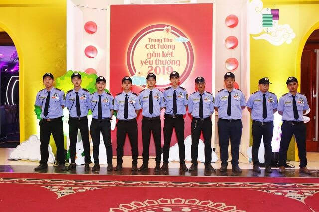 Đội ngũ bảo vệ sự kiện lễ hôi chuyên nghiệp